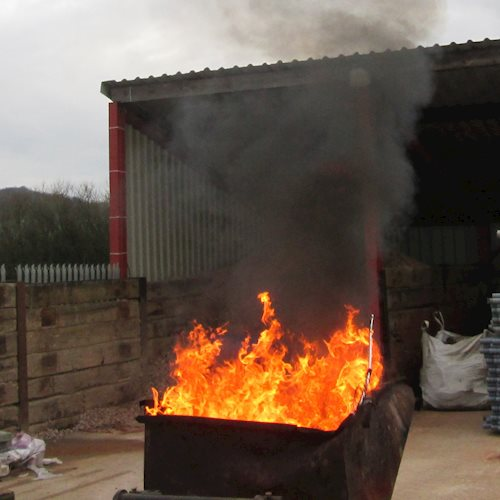 A spike in trade waste bonfires is being investigated by Stroud District Council image