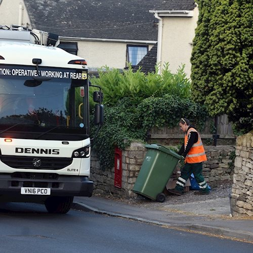 Chart-topping waste and recycling service shortlisted for national awards image