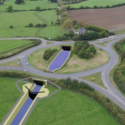 'Missing mile' of canal can be restored thanks to £4million Highways England grant image