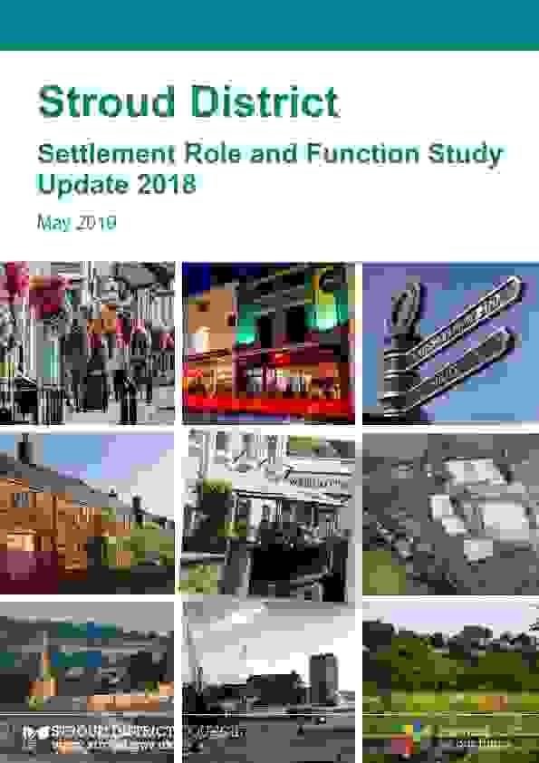 Stroud District Settlement Role and Function Study 2014