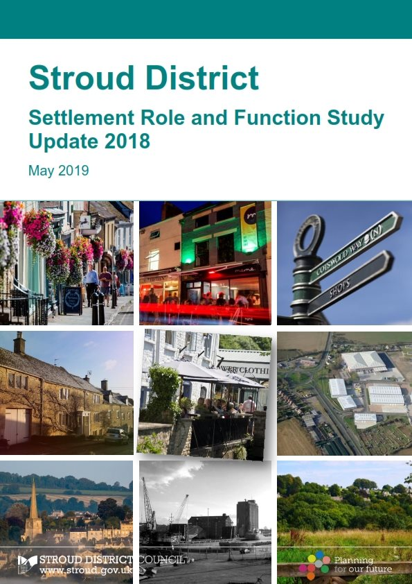 Stroud District Settlement Role and Function Study