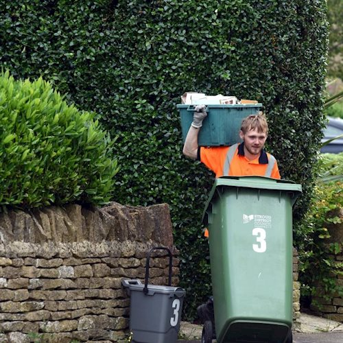 Changes to recycling rounds: you'll need to put everything out by 6am image