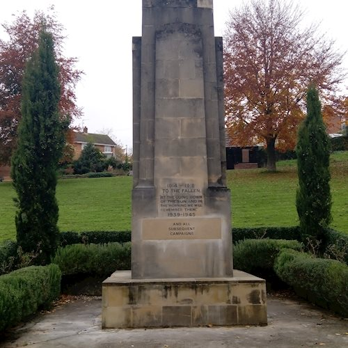 Good as new – vandalised war memorial repaired free-of-charge image