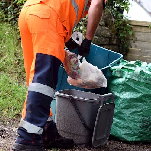 Bin crew abused while working to keep our waste and recycling service running as normal image