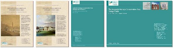 The four volumes of the IHCA Conservation Area Statement
