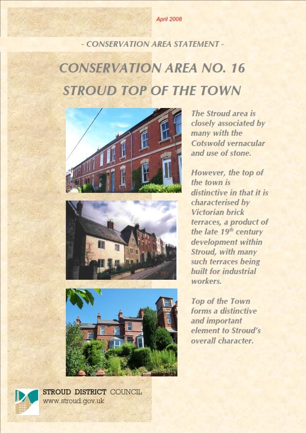 Conservation Area No.16 - Stroud Top of the Town