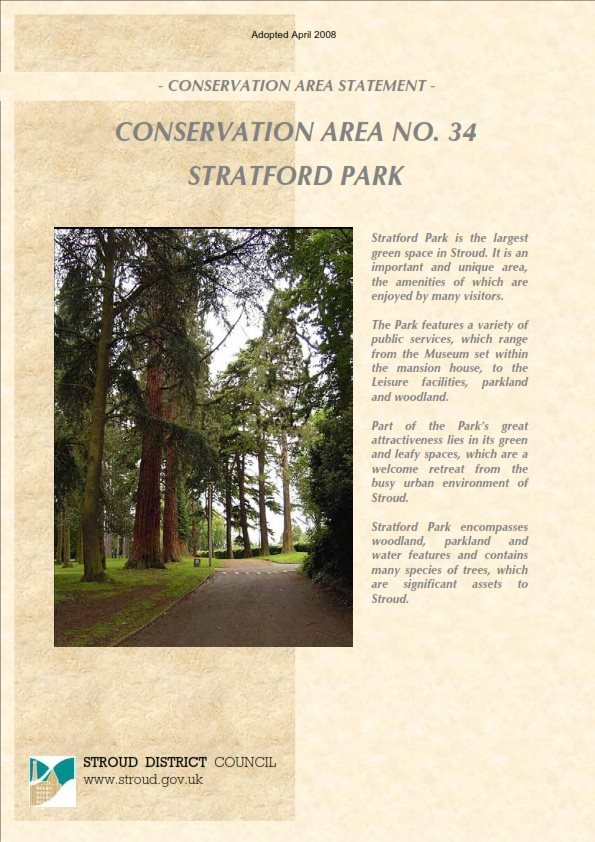 Conservation Area No.34 - Stratford Park
