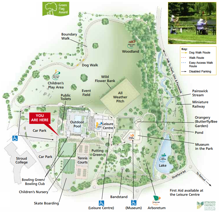 Stratford Park map and directions