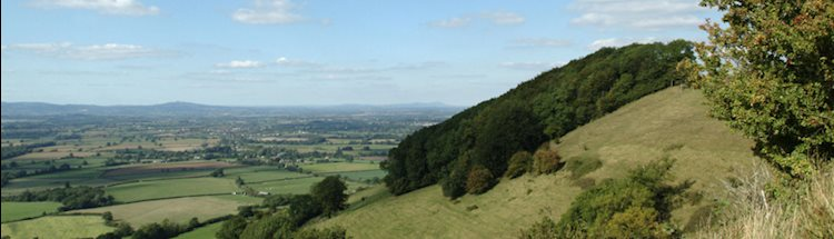 View from Coaley Peak image
