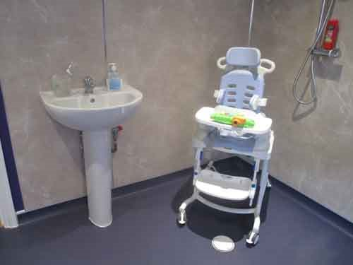 Major home adaptations for a disabled person