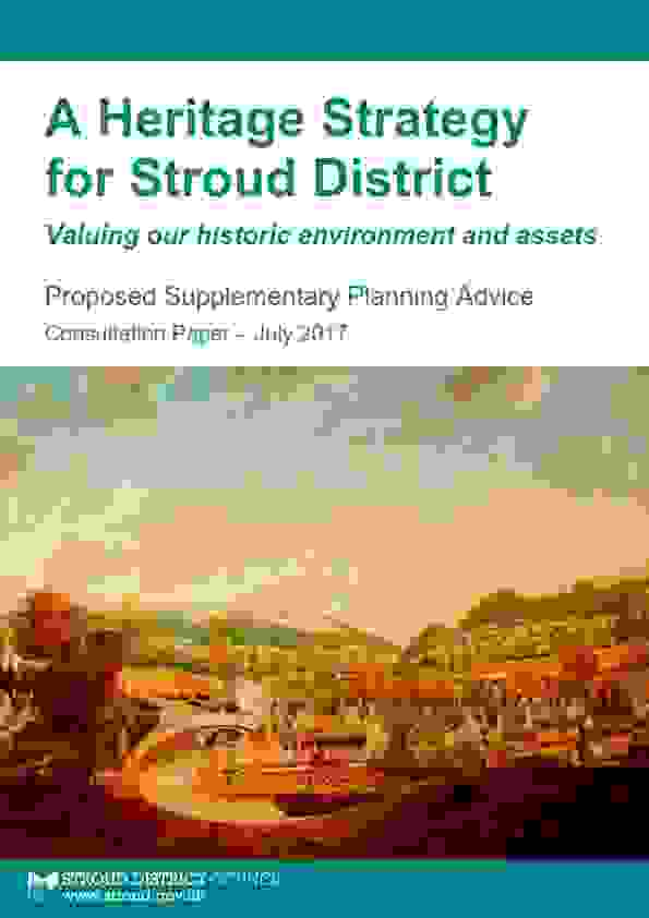 A Heritage Strategy for Stroud District: CONSULTATION