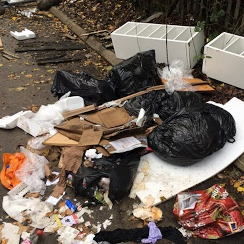 Residents warned to check licenses as two Stroud men plead guilty to fly tipping image