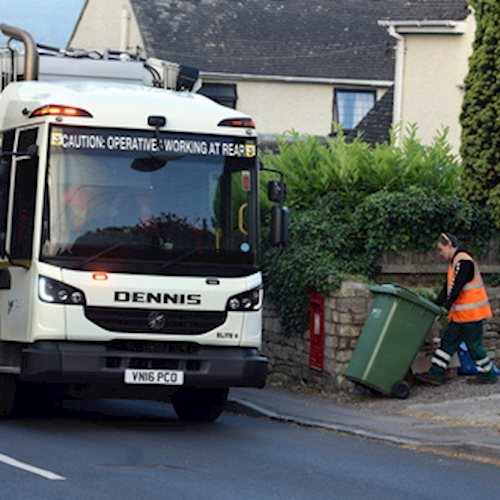 This is when your bins will be collected over Christmas and New Year image