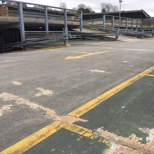 Town centre car park benefits from £86k investment image